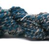 blue and grey yarn